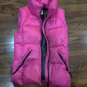 SAM. Down pink vest !! NEW!!